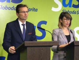 SaS: Vyzývame P. Pellegriniho, aby odvolal T. Gašpara z funkcie