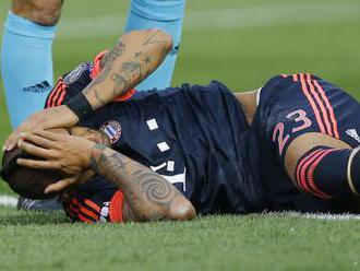 Vidal podstúpil operáciu kolena, sezóna sa pre neho skončila