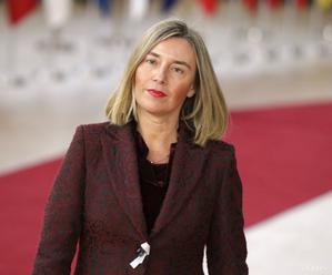 Mogheriniová zdôraznila v pléne EP potrebu mierových rokovaní o Sýrii