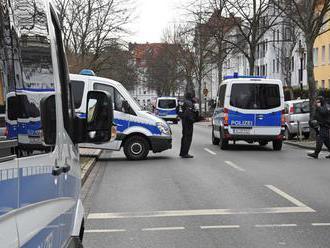 Nemecká polícia vykonala razie v bytoch krajných pravičiarov