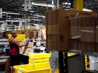 Rýchle služby Amazonu pick-and-package na úkor zamestnancov, ktorí močia do fliaš