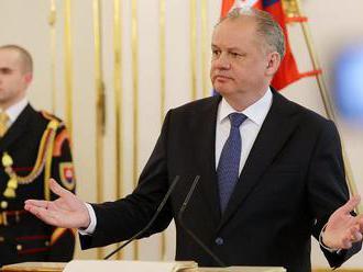 Prezident: Odchod Tibora Gašpara je minimum, vláda musí začať pracovať