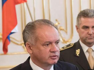 Kiska ku Gašparovi: Premeškal dôstojné príležitosti, jeho odchod je minimum