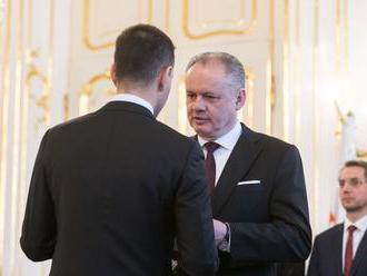 Kiska prijme Druckerovu demisiu, riadením rezortu poverí premiéra