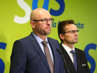 V súčasnej vládnej koalícii už nie je nikto, kto by polícii vrátil dôveru, myslia si v SaS