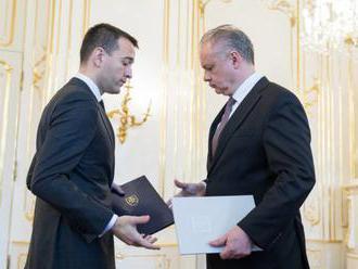 Prezident Kiska prijal demisiu Druckera, ministerstvo vnútra dočasne povedie Pellegrini