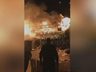 Mexická svadba sa zmenila na horiace peklo