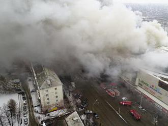 Tragédia v Kemerove: Vyšetrovatelia oznámili presnú príčinu požiaru