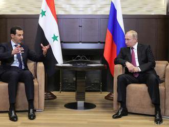 Bašár Asad navštívil Vladimira Putina v jeho letnom sídle v Soči