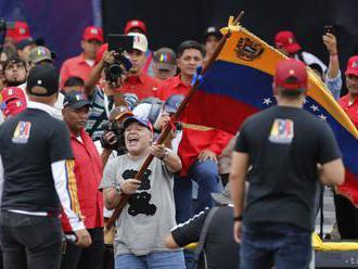 Diego Maradona podporil pred voľbami prezidenta Nicolása Madura