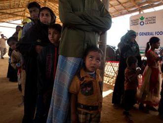 OSN: V bangladéšskych táboroch sa denne narodí 60 rohinských detí