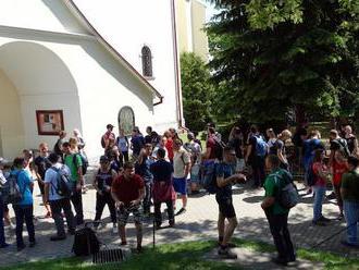 Spoločenstvá mladých Trnavskej arcidiecézy sa stretli v Smoleniciach