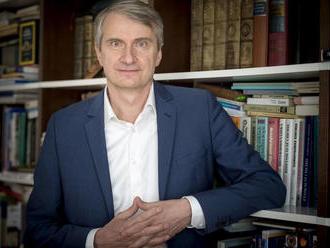 Prezidentský kandidát Róbert Mistrík: Som jednoznačne eurooptimistický