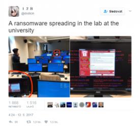 Masivní ofenzíva ransomwaru WanaCrypt0r
