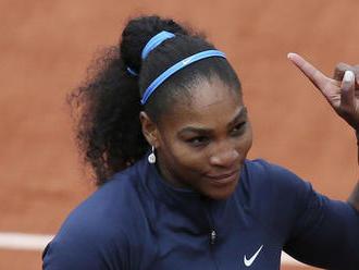 Serena ohlásila účasť na Roland Garros. Ide tam s cieľom vyhrať, tvrdí tréner