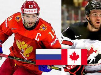 ONLINE: Kanada vedie nad Ruskom v II. tretine 1:0