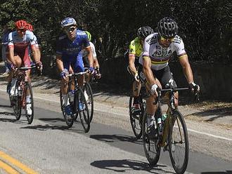 Peter Sagan obsadil v piatej etape okolo Kalifornie tretie miesto