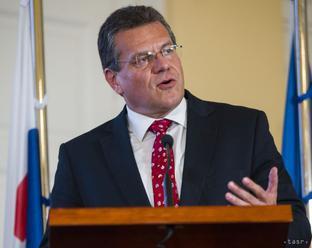 Šefčovič má vízie o EÚ, čaká na protikandidátov z radov socialistov