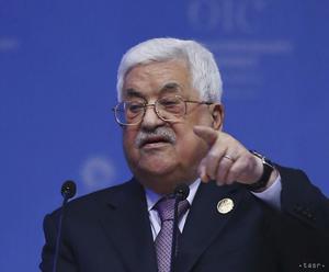 Palestínsky prezident ocenil rezolúciu VZ OSN o násilí v Gaze