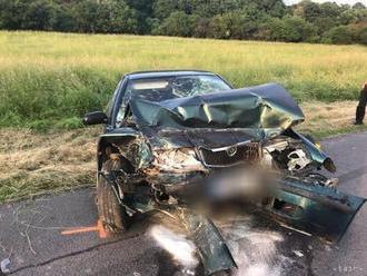 Čelnú zrážku pri Zázrivej neprežil 55-ročný vodič dodávky