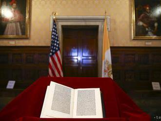 Veľvyslanectvo USA vrátilo Vatikánu ukradnutý list Krištofa Kolumba