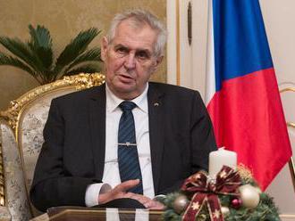 Miloš Zeman prekvapil nečakanou tlačovkou. Mediá špekulujú o dôvode