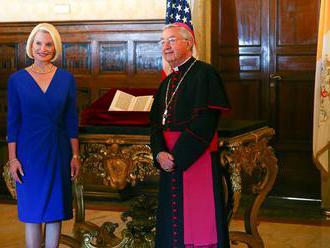 Americké veľvyslanectvo vrátilo Vatikánu ukradnutý list Krištofa Kolumba
