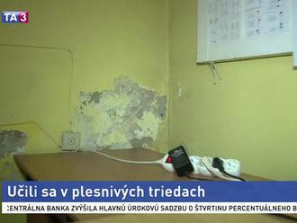 Budova žilinského konzervatória má problém s plesňou
