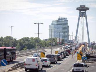 V Bratislave sa chystá akrobatický kúsok, uzatvoria dva mosty