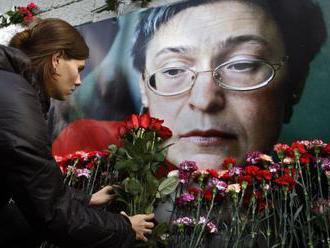 V Moskve otvorili záhradu venovanú pamiatke Anny Politkovskej