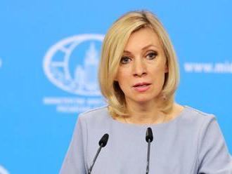 Zacharovová komentovala slová generálneho tajomníka NATO o Kryme