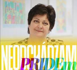 Patakyová opäť na pochode LGBTI. Paška: Osoba, ktorá sa nezasadzuje za práva nenarodených detí&helli
