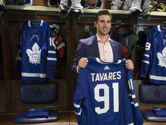Tavares mieri do Toronta, bude najlepšie plateným hráčom v NHL