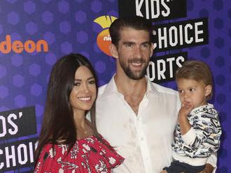 Rodičovské povinnosti v gala! Phelps či Wilson ukázali ratolesti na akcii