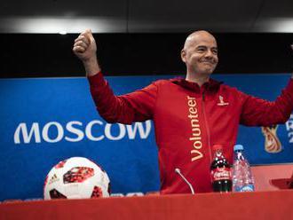 Šéf FIFA Infantino označil šampionát v Rusku za najlepší v histórii