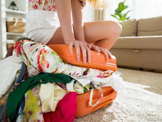 10 tipov, ako efektívne zbaliť kufor na dovolenku