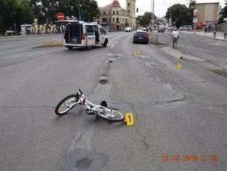 MICHALOVCE:  Pri dopravnej nehode prišla o život 6 ročná cyklistka