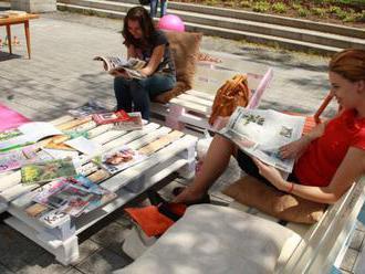 Bratislava otvorí v Propeleri letnú čitáreň s malým občerstvením
