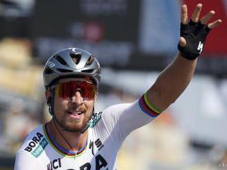 Peter Sagan nedokončil preteky s hromadným štartom