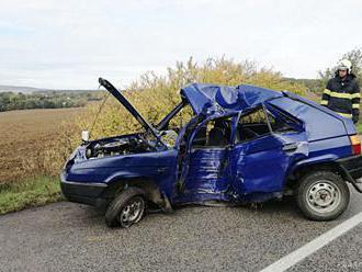 V Kremnici sa zrazilo osobné vozidlo s motocyklom