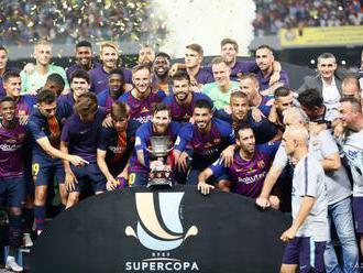 Barcelona vyhrala v súboji o španielsky Superpohár nad Sevillou