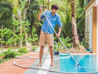 Ako sa starať o vodu v bazéne v striedavom počasí?