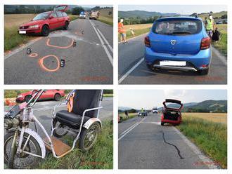 FOTO Tragédia pri Hnúšti: Michal predchádzal cez plnú čiaru, Štefan   na trojkolke neprežil