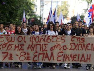 Tisíce Grékov protestovali proti pravicovému extrémizmu