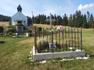 Kostol nad Úhornou je vďačnosťou za uzdravenie už viac ako 200 rokov