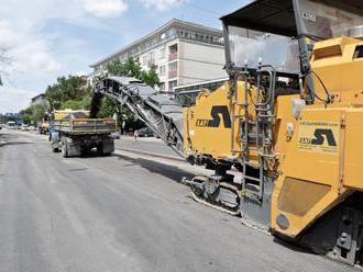 V považskobystrickej mestskej časti zrekonštruovali cestu