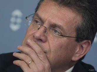Šefčovič v pondelok oznámi kandidatúru na predsedu Európskej komisie