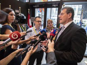 Šefčovič: Európska únia čelí tlakom vo forme migrácie a extrémizmu