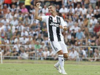 Ronaldo strelil svoje prvé dva góly za Juventus