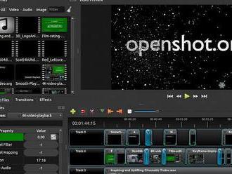 OpenShot 2.4.3 umí animované masky